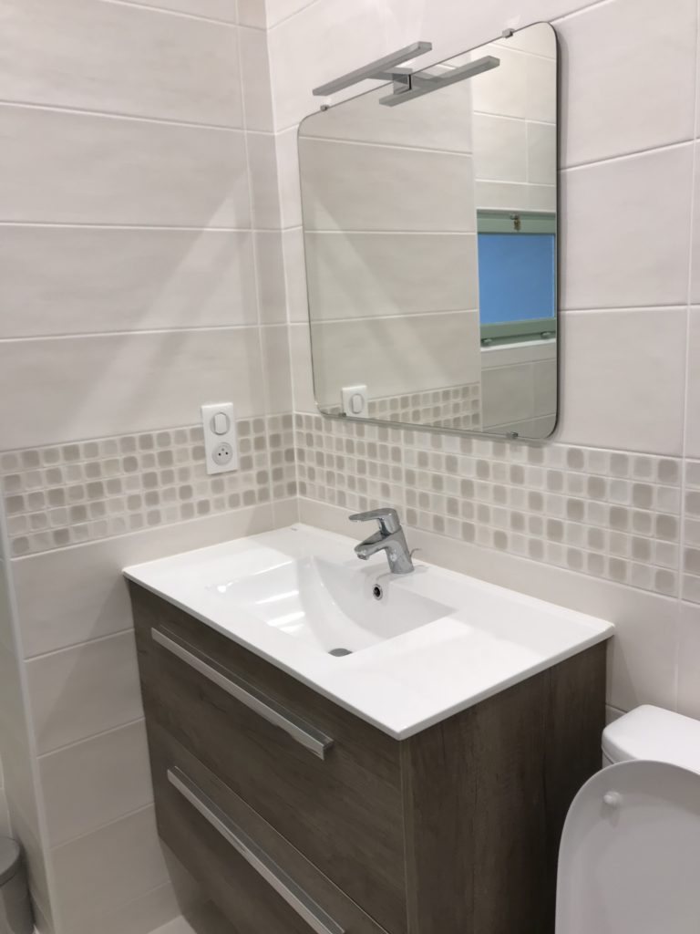 Réalisation salle de bain à Tours (37)