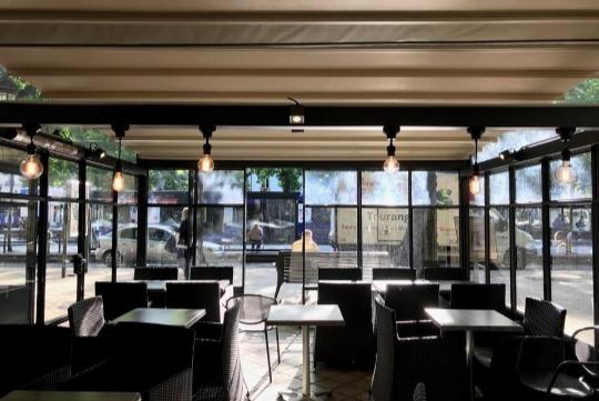 Eclairage d'un restaurant à Tours en Indre-et-Loire (37)